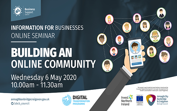 Building an online community webinar for Armagh, Banbridge and Craigavon