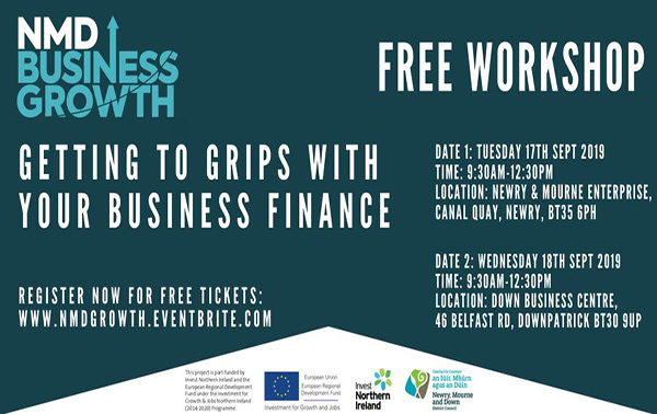 Business finance events for Newry, Mourne and Down