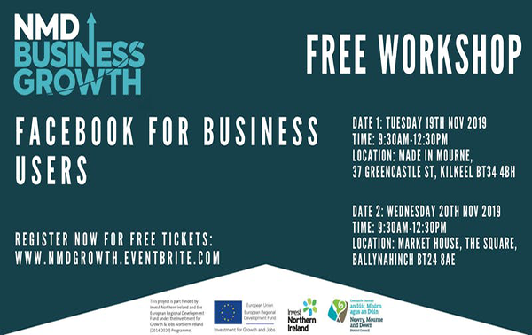 Facebook events for Newry, Mourne and Down businesses