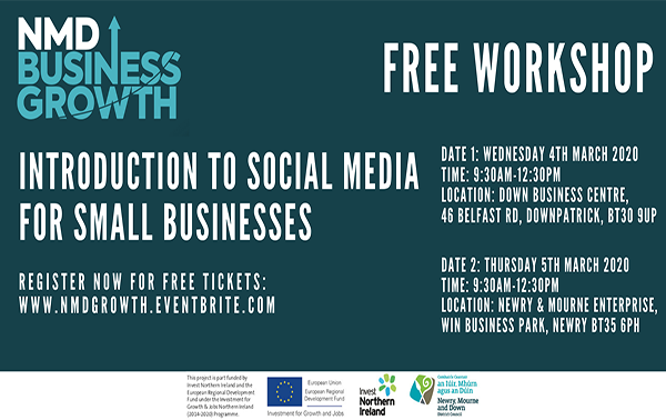 Social media events for Newry, Mourne and Down businesses