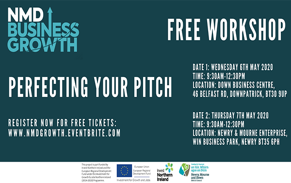 Newry, Mourne and Down events: Perfecting your pitch