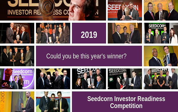 Seedcorn Investor Readiness Competition 2019