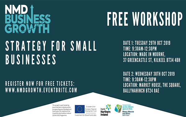 Business strategy events for Newry, Mourne and Down