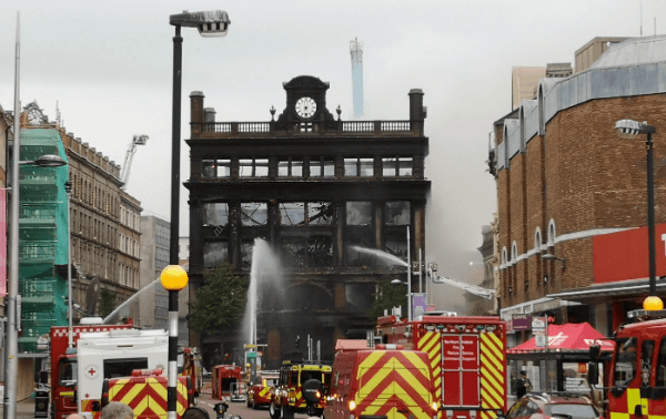 Bank Buildings fire: financial support package for businesses