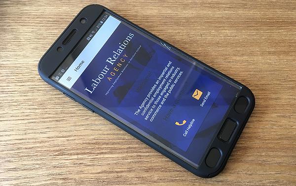 LRA employment app