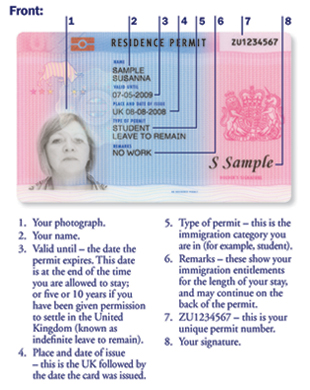 Where To Find National Insurance Number On Brp