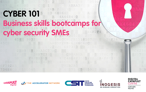 Business skills bootcamp for cyber security SMEs