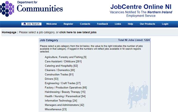 JobCentre Online