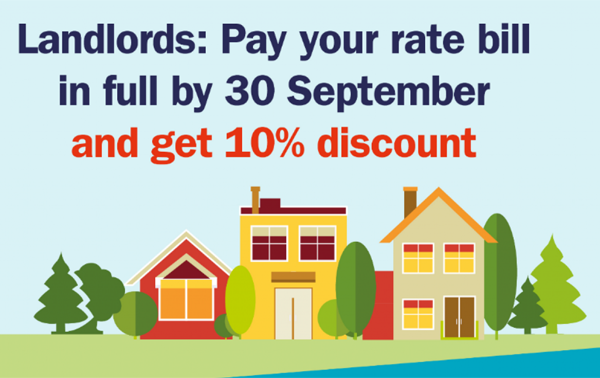 Landlord discount