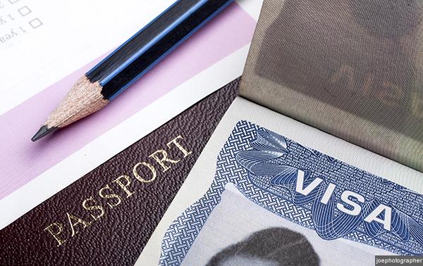 Passport and visa application