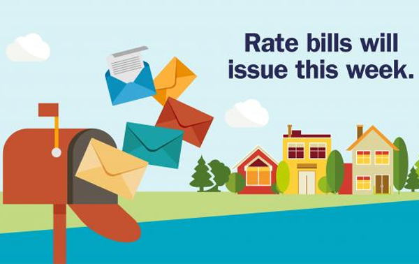 Business rate bills issued